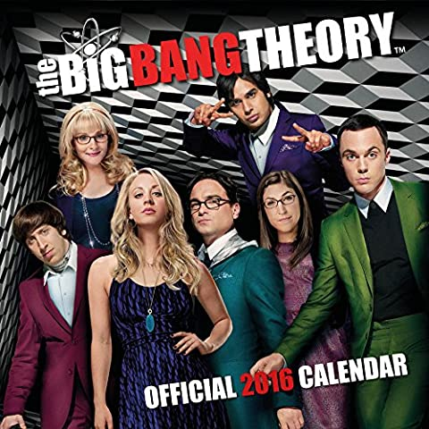 Calendrier Chinois 2016 - The Official Big Bang Theory 2016 Square