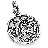 KERALA Colgante Tetragramaton en Plata 925. Tamaño 1.60 cm.Amuleto