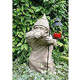 Vidroflor Gartenfigur | Schleicher Harry | H: 65 cm | 40 kg | ohne Laterne | aus massivem Steinguss