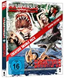 Creature Double Pack - SHARK Edition 1: Sharktopus & Sharkansas Women's Prison Massacre [Blu-ray] (2-Disc Set)