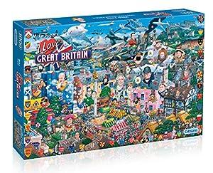 Gibsons Games - Puzzle de 1000 piezas Importado de Inglaterra