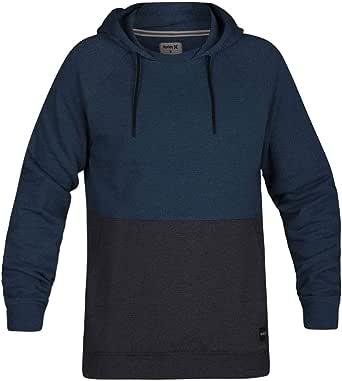 Hurley Men's Crone Blocked Pullover Fleece Top