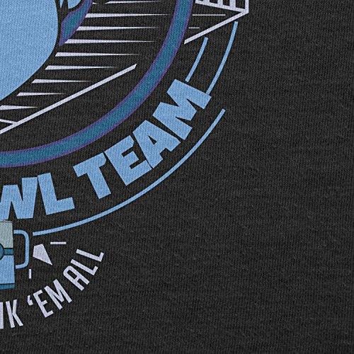 NERDO - Bar Crawl Team Mystic - Damen T-Shirt Schwarz