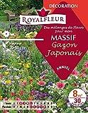 Royalfleur PFRE08351 Graines de Mélange de Fleurs mon Massif Gazon Japonais 8 m²