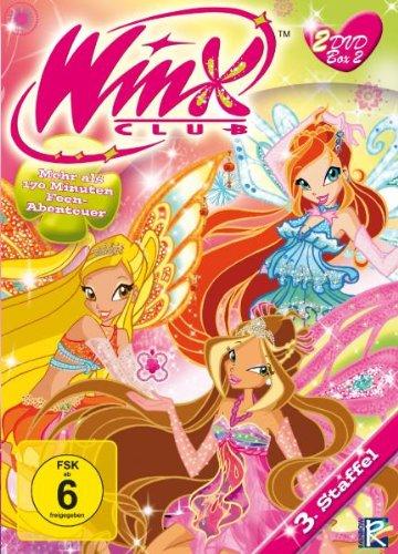 Winx Club - 3.Staffel, Teil 3 & 4 [2 DVDs]