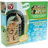 Kitticat Cat Bristle Brush Groomer Kitten Massaging Grooming Scratching Arch Nip