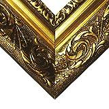 Barockrahmen gold fein verziert 840 ORO, Leerrahmen 40x50 cm -