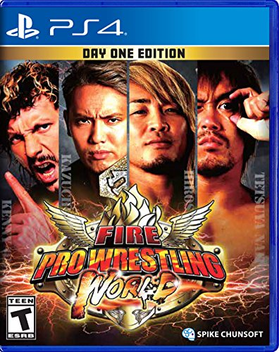 FIRE PRO WRESTLING WORLD DAY ONE EDITION PS4 PLAYSTATION 4 REGION FREE