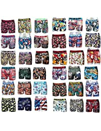 FREEGUN LOT SURPRISE DE 9 BOXERS HOMME 9 MOTIFS DIFFERENTS SELON ARRIVAGE TAILLE L