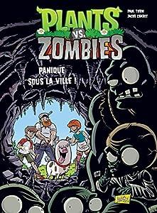 """Afficher """"Plants vs Zombies n° 6 Panique sous la ville ! : Plants vs Zombies, 6"""""""