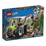 LEGO City 60181 - Starke Fahrzeuge Forsttraktor, Cooles Kinderspielzeug -