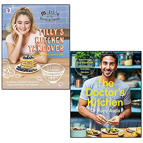 matilda & the ramsay bunch[hardcover], doctor's kitchen 2 books collection set - tilly's kitchen takeover, supercharge your health with 100 delicious everyday recipes