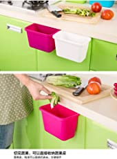 Rian's Online Plastic Hanging Garbage Holder, Multicolour