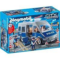 Playmobil 9236 Fourgon de policiers avec matériel de Barrage