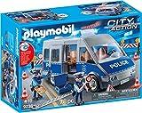 Playmobil Policía Furgón con Control de Tráfico, única (9236)