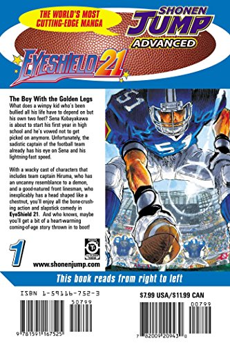 EYESHIELD 21 GN VOL 01