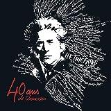 40 ans de chansons | quadruple vinyle gatefold
