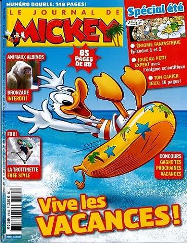 Mickey Journal - le journal de Mickey; vive les vacances;