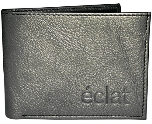 éclat Eclat Fabrizio Metallic Grey Regular Wallet