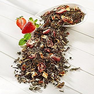 Weisser-Tee-Erdbeer-Minze