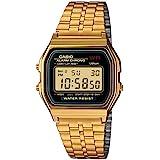Casio Unisex Classic A159WGEA-1VT Vintage Watch Gold