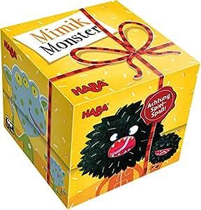 Haba 300610–Cadeau Cube–mimiques Monster