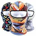 Frontier Thermovlies Sturmhaube Winter Ski Hals Masken Hauben Fahrrad taktischen Vollmasken