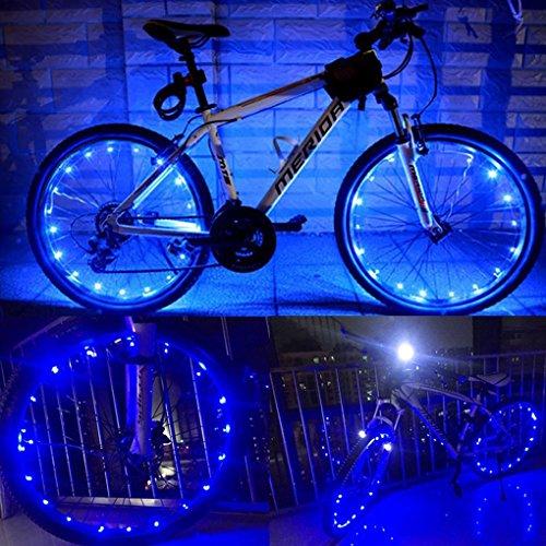 Fahrrad Licht 20 Led Fahrradreifen Beleuchtung Reifen Rad Licht ...