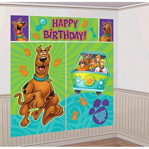 Amscan International - Decorazione da parete, motivo: Scooby Doo dove sei! Di grande effetto scenografico