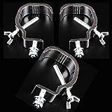 3 Pezza Clamp Gancio, Morsetto in Alluminio Accessori illuminazione Palco, Fase Lega di Alluminio Hook per fascio di testa mo