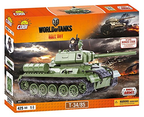 COBI WORLD OF TANKS - 3005 - T-34/85