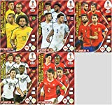 PANINI ADRENALYN XL FIFA WORLD CUP 2018 RUSSIA Adrenalyn XL FIFA World Cup 2018–Full Set von fünf (5) Power 4Karten–nummeriert # 401–405