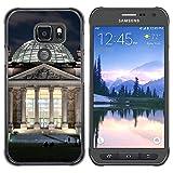 FJCases Berlin Deutschland Postkarte Ansicht Harte Hülle Schutzhülle Tasche für Samsung Galaxy S7 Active