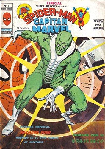 Spiderman y el Capitan Marvel numero 08