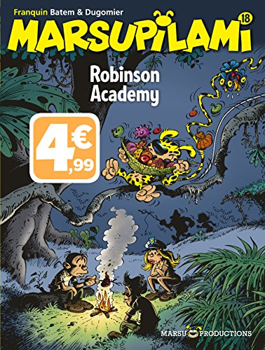 Marsupilami : Robinson Academy par Colman