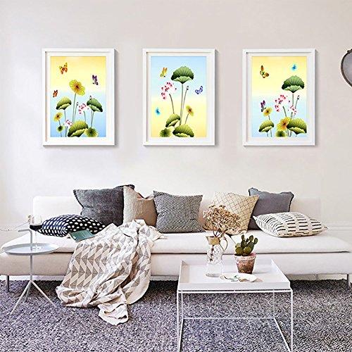 3 Multi-Frame Foto Wand Massivholz 16-Zoll-Massivholz Fotorahmen Wand Wohnzimmer Wand Bilderrahmen Kombination Schlafzimmer Unternehmen ( Color : White ) (Kalender Unternehmen)