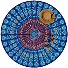 Manfâ Mandala Tapestry,Indian Hippie Hanging Toalla,Wall Tapiz for Colcha del Lecho del