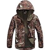 Kelmon Men's Outdoor Softshell Hooded Tactical Jacket