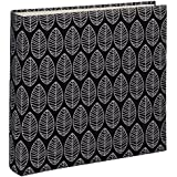 Hama La Fleur Album portafoto, Cartone, Schwarz (Weiße Seiten), 30x30