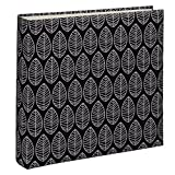 Hama Fleur Black photo album - photo albums (Black, 100 sheets, 10 x 15, 400 sheets, 300 mm, 300 mm)