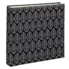 Idea Regalo - Hama La Fleur Black photo album - photo albums (Black, 100 sheets, 10 x 15, 400 sheets, 300 mm, 300 mm)