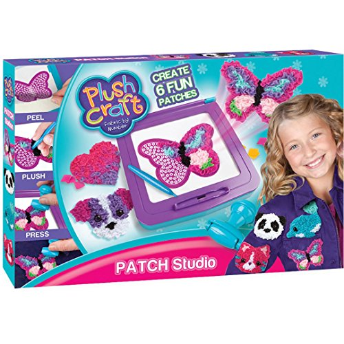 Orb Factory 621436 - Plush Craft Patch Station Sticker, Plüsch