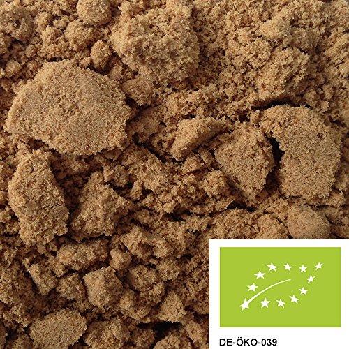 1kg BIO Muscovado Zucker dunkel, reiner Vollrohrzucker ohne Zusätze