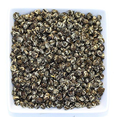 Tealyra - Superfine Jasmine Dragon Pearls - Best Chinese Jasmine Loose Green Tea Leaf - Pleasant Aroma and Tonic Effect - 200g