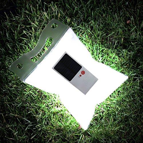 Christine Outdoor Camping Zelt Lampe Solarbetrieben LED Licht Wasserdicht aufblasbar Beleuchtung Laterne klappbar und tragbarer Camping Beleuchtung Notfall Lampe, fd1510