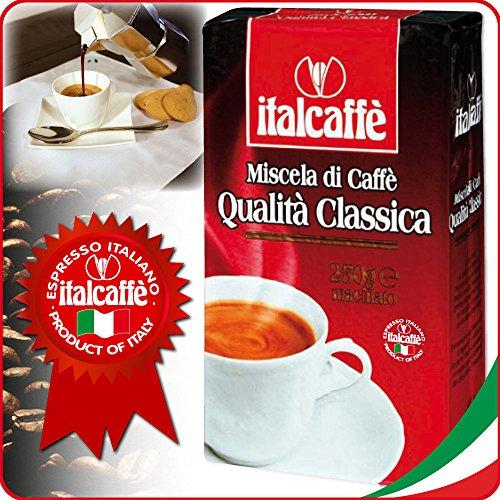 Italcaffè Kaffee Qualità Classica, gemahlen, 4er Pack, 4 x 250g