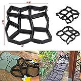 Schwarz Muster Garten Pflastersteine Path Maker Form