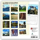 California National Parks - Kalifornische National Parks 2018 - 18-Monatskalender mit freier TravelDays-App: Original BrownTrout-Kalender [Mehrsprachig] [Kalender] (Wall-Kalender) - BrownTrout Publisher