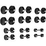 6 Coppie Nero Orecchini Stud Acciaio Inossidabile Spine per Orecchie Orecchini a Vite Set per Uomo e Donna Accessori, 18(-)
