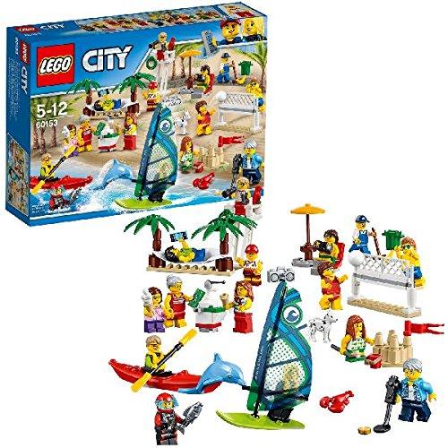 LEGO City 60153 - Stadtbewohner – Ein Tag am (Lego Kostüm Mädchen)
